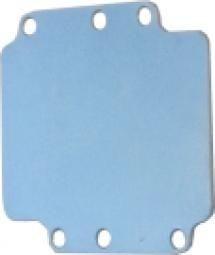 Plaque de montage pour efabox 75x80x57mm