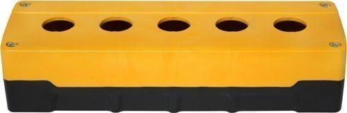 Boîtier 5 trous ABS Jaune/Noir