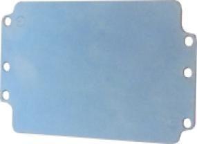Plaque de montage pour efabox 125x80x57 mm