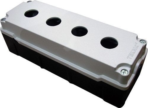 Boîtier métallique  aluminium moulé 4 trous 52 mm de profondeur