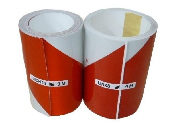 kit bandes réfléchissantes alter/auto adh classe 1 -140mmx9,00m