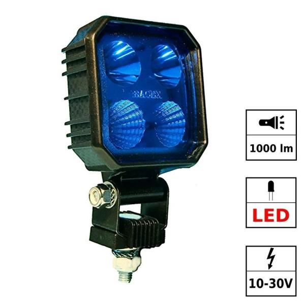 """Phare carré à LED de sécurité """"bluelight"""" 1000 lumen"""