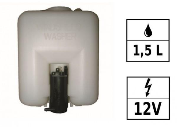 Réservoir de lave glace 12V 1,5L 1 pompe