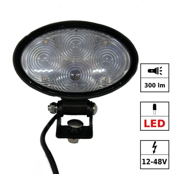 """Phare de sécurité """"bluelight"""" 4 LEDs"""