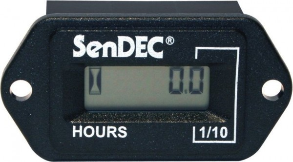 Hour Meter Two Holes 5-80V AC/DC