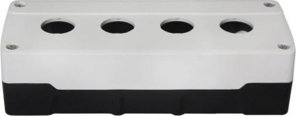 Boîtier 4 trous PC Blanc/Noir