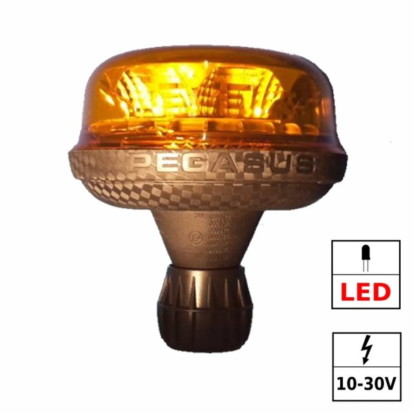 Gyrophare LED 3 fonctions ECE R65 corps flexible