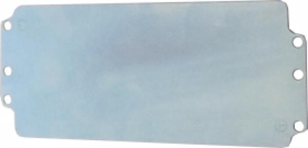 Plaque de montage pour efabox 220x120x81 ou 91 mm