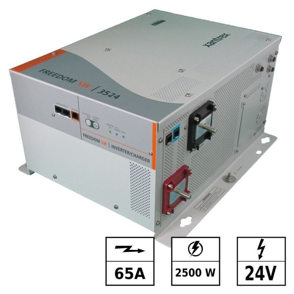 Convertisseur / chargeur 24Vdc 230 Vac 2500W 65A FREEDOM SW